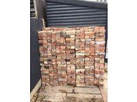 750 red imperial reclaimed bricks