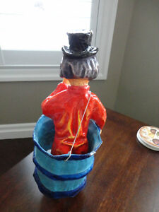 Authentic Mexican Made Paper Mache Clown in a Barrel Kitchener / Waterloo Kitchener Area image 5