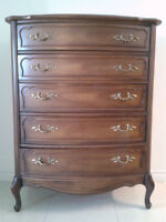 Solid Fruitwood Dresser, French Provincial