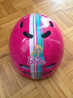 Bike helmet Barbie for girl/Casque de vélo Barbie pour fille