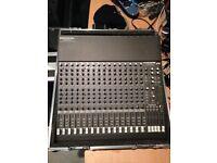 Mackie VLZ 1604 Pro Mixer with new flightcase
