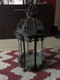 Heavy Glass lantern
