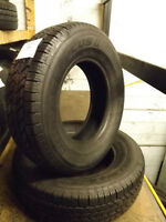 205/75/14 Hankook Mileage Plus 2's, $50/tire installed and balan