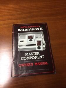 Intellivision II video game system