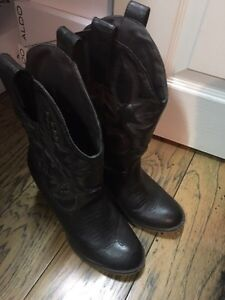 Fake Aldo and Spring western boots Cambridge Kitchener Area image 2