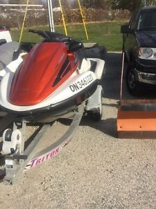 SET OF 2 HONDA AQUATRAX WITH TRAILER Windsor Region Ontario image 2