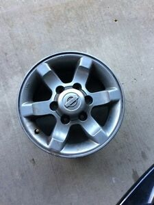 6 Bolt 15 inch Nissan Frontier Rims