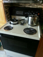 GE Electric stove, Coil top