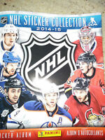 2014/2015 Hockey sticker book