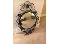 Black Ornate Mirror