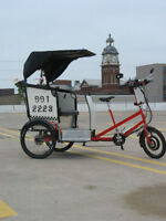PETER PATCH PEDICABS  !!  SAVE THE EARTH !! ONE RIDE AT A TIME !