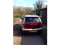 Stylish but practical Mini Clubman, recently serviced with 3 brand new tyres, fantastic drive