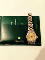 LADIES ROLEX DATEJUST 18 KT/SS.REF.69173.1106 AV.MONT ROYAL E.