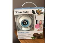 D-Link DCS-825L WiFi HD baby monitor/camera