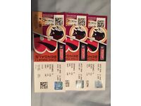 NFL Tickets x 3 - Redskins v Bengals 30.10.16