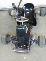 I'm looking to trade my Racing Go-Kart. Runs like a dream.