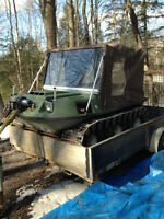 1990 Vanguard 6X6 Argo with tracks and more or trade