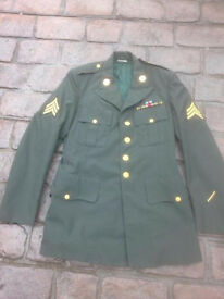 U.S.A. Vietnam era Army dress jacket.