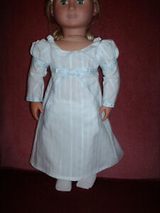 American Girl-Sized Doll Clothes: White Dress