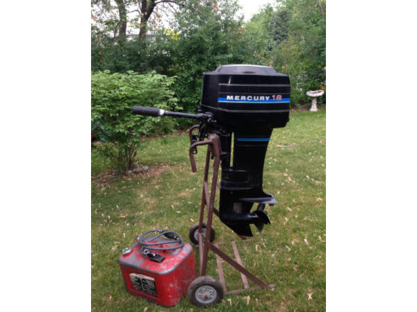 Mercury 18 Hp Outboard For Sale Canada