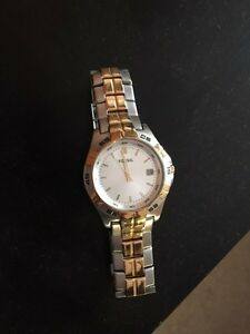 Gold/Silver Fossil Watch $99.99