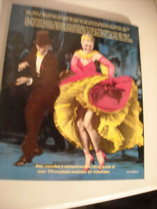 Hollywood Musicals - Best, Worst, & Most Unusual Hard Cover Book Peterborough Peterborough Area image 2