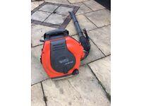 Husqvarna petrol leaf blower backpack garden vac