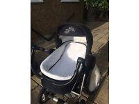 Baby Merc baby Pram Stroller 3 in 1