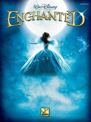 Enchanted Sheet Music Easy Piano Songbook Song Book NEW -