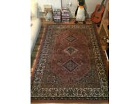 Beautiful hand woven Persian rug red