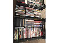 160+ DVDs job lot REDUCED