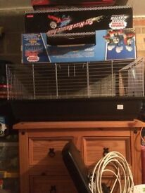 Large 3ft rabbit cage 6 months old