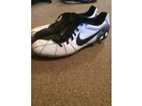 Size 12 Nike football boots T90