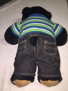Build-A-Bear Workshop Black Teddybear with Clothes London Ontario image 3