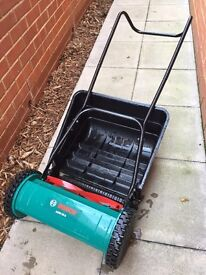 Bosch AMH 38G manual lawnmower used once