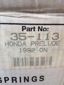Car springs for Honda Prelude