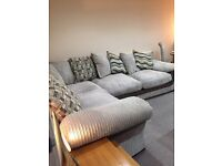 Excellent condition corner suite, collection only