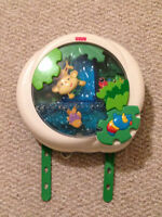 Fisher Price Rainforest Peekaboo Soother For Crib