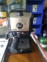 barely used cappuccino maker