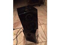 Black 2x speaker