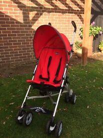 Chicco stroller - very lightweight