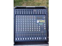 Carlsboro Eclipse 12 PA mixer desk with speakers