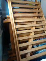 Beautiful Pine Bunkbeds with ladder