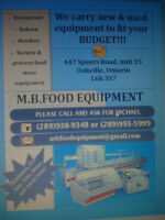 used restaurant/store/ bakery equipment
