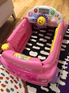 Fisher-Price Smart Stages Crawl Around Car in Pink