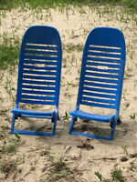 2 Beach Chairs-Hard to Find!