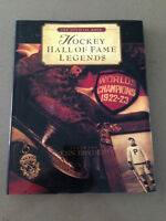 Mint Condition- Hockey Hall Of Fame Legends Book