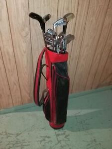 Assortment of Golf Clubs