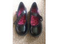 Size 4 black kickers