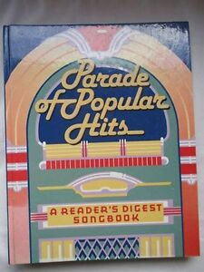 Parade of Popular Hits: A Reader's Digest Songbook Hardcover